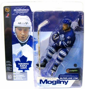 McFarlane Toys NHL Sports Picks Series 3 Action Figure Alexander Mogilny (Toronto Maple Leafs) Blue Jersey Variant