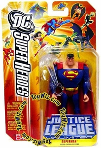 DC Super Heroes Justice League Unlimited Action Figure Superman with Breath