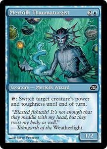 Magic the Gathering Planar Chaos Single Card Common #56 Merfolk Thaumaturgist