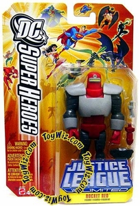 DC Super Heroes Justice League Unlimited Action Figure Rocket Red