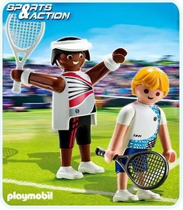 Playmobil Athletes Set #5196 Tennis Players