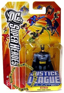DC Super Heroes Justice League Unlimited Mini Metal Figure Batman [Orange Card]