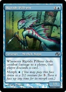 Magic the Gathering Planar Chaos Single Card Uncommon #60 Riptide Pilferer