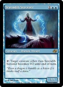 Magic the Gathering Planar Chaos Single Card Rare #61 Serendib Sorcerer