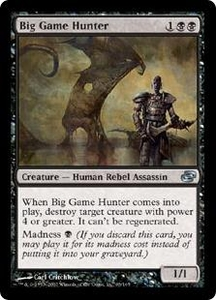 Magic the Gathering Planar Chaos Single Card Uncommon #63 Big Game Hunter