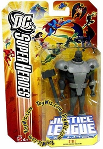 DC Super Heroes Justice League Unlimited Action Figure Steel