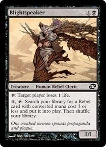 Magic the Gathering Planar Chaos Single Card Common #64 Blightspeaker