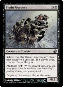 Magic the Gathering Planar Chaos Single Card Common #65 Brain Gorgers