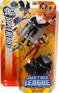 DC Super Heroes Justice League Unlimited Action Figure 3-Pack Justice Lords [Superman, Batman & Wonder Woman] Orange Card!