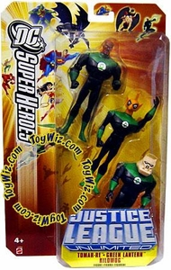 DC Super Heroes Justice League Unlimited Action Figure 3-Pack John Stewart, Tomar Re & Kilowog