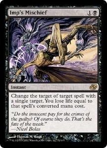 Magic the Gathering Planar Chaos Single Card Rare #72 Imp's Mischief