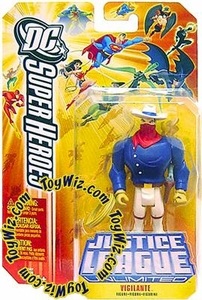 DC Super Heroes Justice League Unlimited Action Figure Vigilante [Random Color Package]