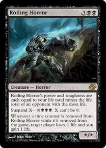 Magic the Gathering Planar Chaos Single Card Rare #79 Roiling Horror