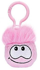 Disney Club Penguin 2 Inch Plush Puffle Clip On Pink