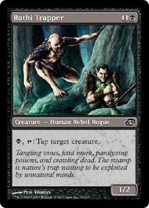 Magic the Gathering Planar Chaos Single Card Common #90 Rathi Trapper