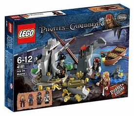 LEGO Pirates of the Caribbean Set #4181 Isla De Muerta