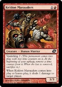 Magic the Gathering Planar Chaos Single Card Common #102 Keldon Marauders