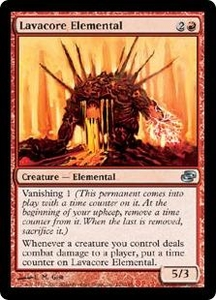 Magic the Gathering Planar Chaos Single Card Uncommon #103 Lavacore Elemental