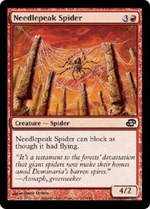 Magic the Gathering Planar Chaos Single Card Common #105 Needlepeak Spider