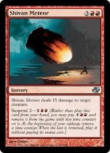 Magic the Gathering Planar Chaos Single Card Uncommon #106 Shivan Meteor