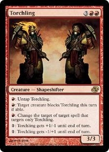 Magic the Gathering Planar Chaos Single Card Rare #110 Torchling