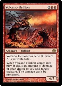 Magic the Gathering Planar Chaos Single Card Rare #111 Volcano Hellion