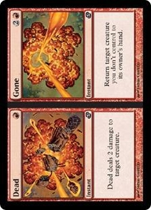Magic the Gathering Planar Chaos Single Card Common #113 Dead // Gone