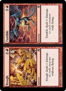 Magic the Gathering Planar Chaos Single Card Uncommon #114 Rough // Tumble