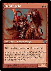 Magic the Gathering Planar Chaos Single Card Uncommon #115 Blood Knight Foil!