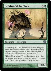 Magic the Gathering Planar Chaos Single Card Uncommon #126 Deadwood Treefolk