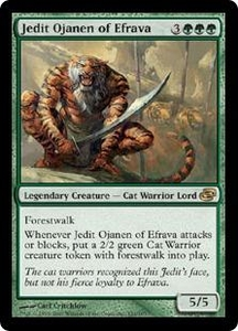 Magic the Gathering Planar Chaos Single Card Rare #131 Jedit Ojanen of Efrava