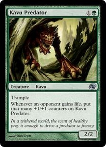 Magic the Gathering Planar Chaos Single Card Uncommon #132 Kavu Predator