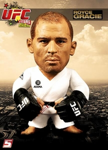 Round 5 UFC Titans Vinyl Action Figure Royce Gracie [White Gi]