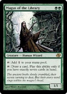 Magic the Gathering Planar Chaos Single Card Rare #134 Magus of the Library