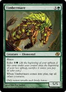 Magic the Gathering Planar Chaos Single Card Rare #140 Timbermare