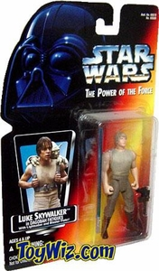 Star Wars POTF2 Power of the Force Red Card Luke Skywalker in Dagobah Fatigues
