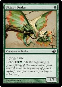 Magic the Gathering Planar Chaos Single Card Common #141 Uktabi Drake