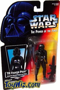 Star Wars Power of the Force Red Card Action Figure TIE Fighter Pilot