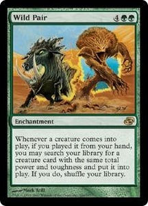 Magic the Gathering Planar Chaos Single Card Rare #144 Wild Pair Great for Commander!
