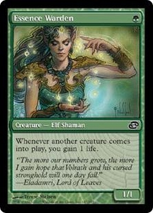 Magic the Gathering Planar Chaos Single Card Common #145 Essence Warden