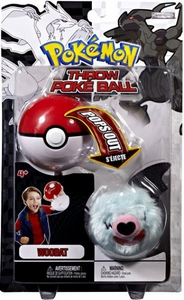 Pokemon Black & White Toy Plush Series 2 Throw Poke Ball Woobat
