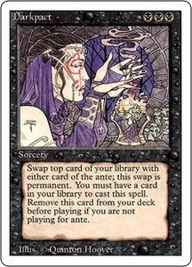 Magic the Gathering Revised Edition Single Card Rare Darkpact