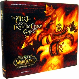 World of Warcraft Hardcover Book The Art of the Trading Card Game Volume One BLOWOUT SALE!
