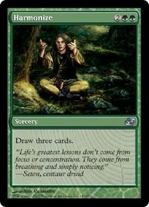 Magic the Gathering Planar Chaos Single Card Uncommon #149 Harmonize