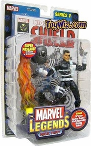 Marvel Legends Series 5 Action Figure Nick Fury