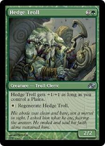 Magic the Gathering Planar Chaos Single Card Uncommon #151 Hedge Troll