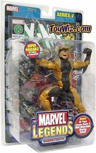Marvel Legends Series 5 Action Figure Sabretooth