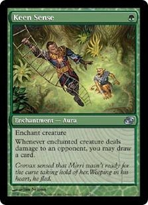 Magic the Gathering Planar Chaos Single Card Uncommon #152 Keen Sense