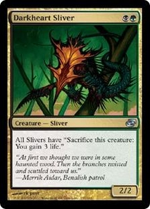 Magic the Gathering Planar Chaos Single Card Uncommon #155 Darkheart Sliver