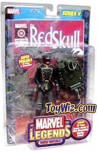Marvel Legends Series 5 Action Figure Red Skull